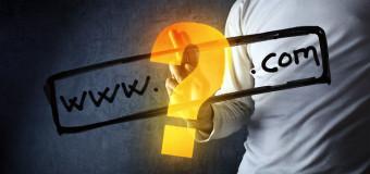 Spletni posel se prične z registracijo domene