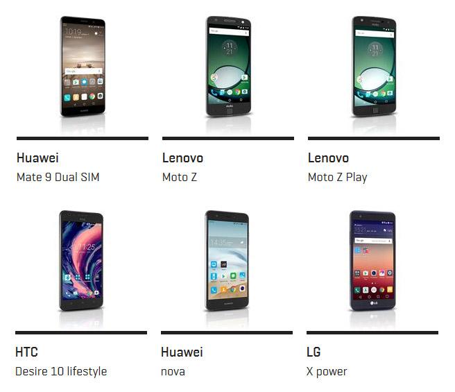 Mobilni telefoni LTE