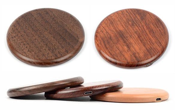 Leseni brezžični polnilci za telefon